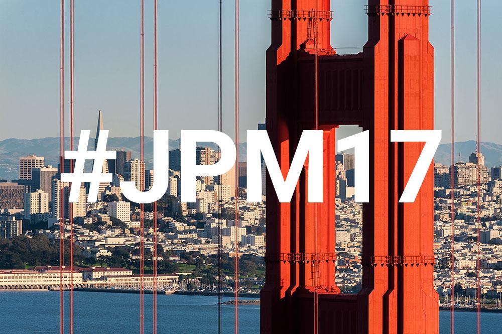 JP Morgan Healthcare Event San Francisco